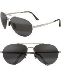 Maui Jim - 'pilot - Polarizedplus2' 63mm Sunglasses - - Lyst