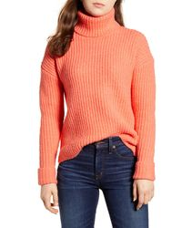 Caslon Caslon Turtleneck Sweater - Multicolor