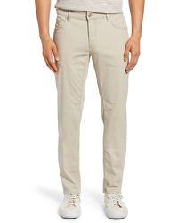 Brax Chuck Hi-flex 5-pocket Pants - Natural