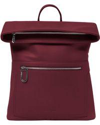 Urban Originals - Sincerely Vegan Leather Backpack - Burgundy - Lyst