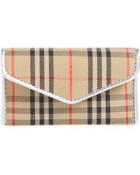 Burberry - Small 1983 Check Envelope Card Case - Lyst