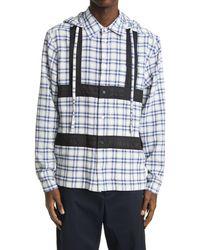 Craig Green - Hooded Harness Button-up Shirt - Lyst