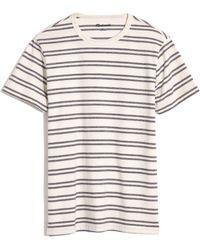 Madewell - Men's Allday Hornsby Stripe Crewneck T-shirt - Lyst
