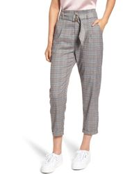 Heartloom - Clover Plaid Crop Pants - Lyst