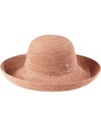 Helen Kaminski 'provence 12' Packable Raffia Hat - Multicolour