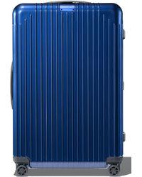 RIMOWA Essential Lite 27-inch Wheeled Suitcase - Blue