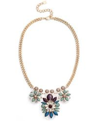 Adia Kibur - Cluster Statement Necklace - Lyst