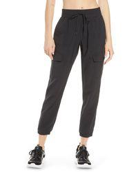 Zella Getaway Cargo Pants - Black
