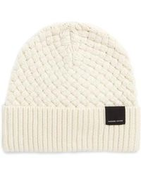 Canada Goose - Merino Wool Basket Stitch Beanie - Lyst