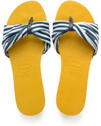 Havaianas - You Saint Tropez Sandals - Lyst