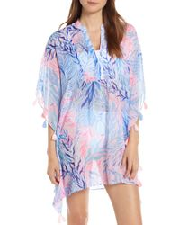 Lilly Pulitzer - Lilly Pulitzer Arline Cover-up Caftan - Lyst