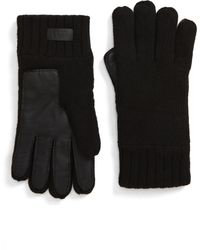 UGG UGG Knit Tech Gloves - Black