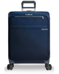 Briggs & Riley Baseline 25-inch Expandable Spinner Packing Case - Blue