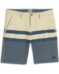 Vintage 1946 Men's Hybrid Shorts - Blue
