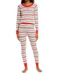 BP. Thermal Pajamas - Red