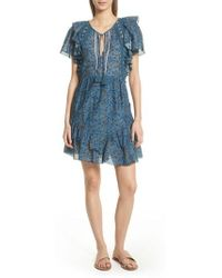 Sea - Kaylee Crochet Pompom Dress - Lyst