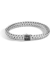 John Hardy - Men's Lava Square Chain Bracelet - Lyst