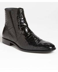 Mezlan 'belucci' Alligator Boot - Black