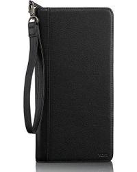 Tumi - Leather Zip Wallet - Lyst