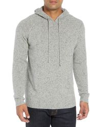 Bobby Jones Rule 18 Donegal Regular Fit Hooded Sweater - Gray