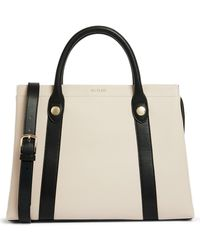 Ted Baker Vincint Leather Tote - White