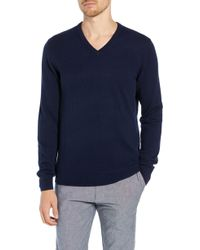 J.Crew - Everyday Cashmere Regular Fit V-neck Sweater - Lyst