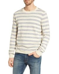Grayers - Stripe Cotton Sweater - Lyst