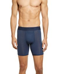 Tommy John Second Skin Boxer Briefs - Blue
