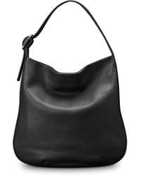 Shinola - Birdy Grained Leather Hobo Bag - Lyst