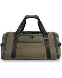 Briggs & Riley Zdx Large Duffle Bag - Green