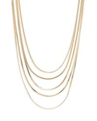 Panacea - Multi Chain Necklace - Lyst