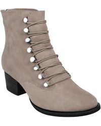 Earth - Earth Doral Lace-up Boot - Lyst
