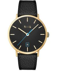 Uri Minkoff - Norrebro Leather Strap Watch - Lyst