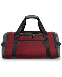 Briggs & Riley Zdx Large Duffle Bag - Red