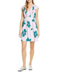Kate Spade - Grand Flora A-line Dress - Lyst