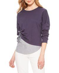 Parker Darce Sweatshirt - Purple