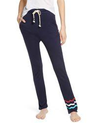 Sol Angeles Waves Lounge Pants - Blue