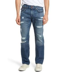 True Religion Ricky Relaxed Fit Jeans - Blue