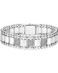 Lagos - Caviar Spark Diamond Bracelet - Lyst