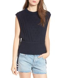Levi's - Made & Crafted Aran Sleeveless Sweater - Lyst