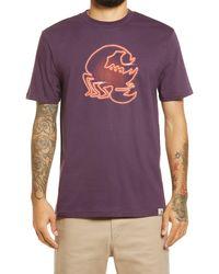 Carhartt WIP Neon Scorpio Graphic Tee - Purple