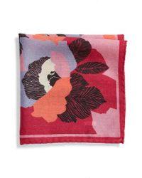 Bonobos - Floral Wool Pocket Square - Lyst