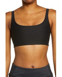 Outdoor Voices Double Time Sports Bra - Black