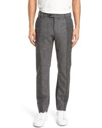 French Connection - Patchwork Wool Trousers - Lyst