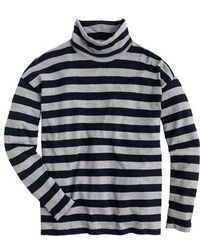 J.Crew | J.crew Deck Stripe Turtleneck | Lyst