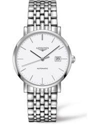 Longines - Elegant Automatic Bracelet Watch - Lyst