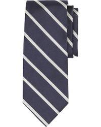 Brooks Brothers - Stripe Silk Tie (x-long) - Lyst