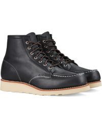 Red Wing Red Wing® 6-inch Moc Lace-up Boots - Black