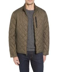 Cole Haan - Quilted Jacket - Lyst