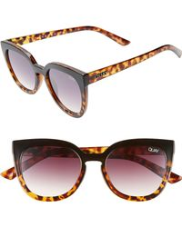 Quay Noosa 50mm Square Sunglasses - Multicolour